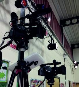 school show filming