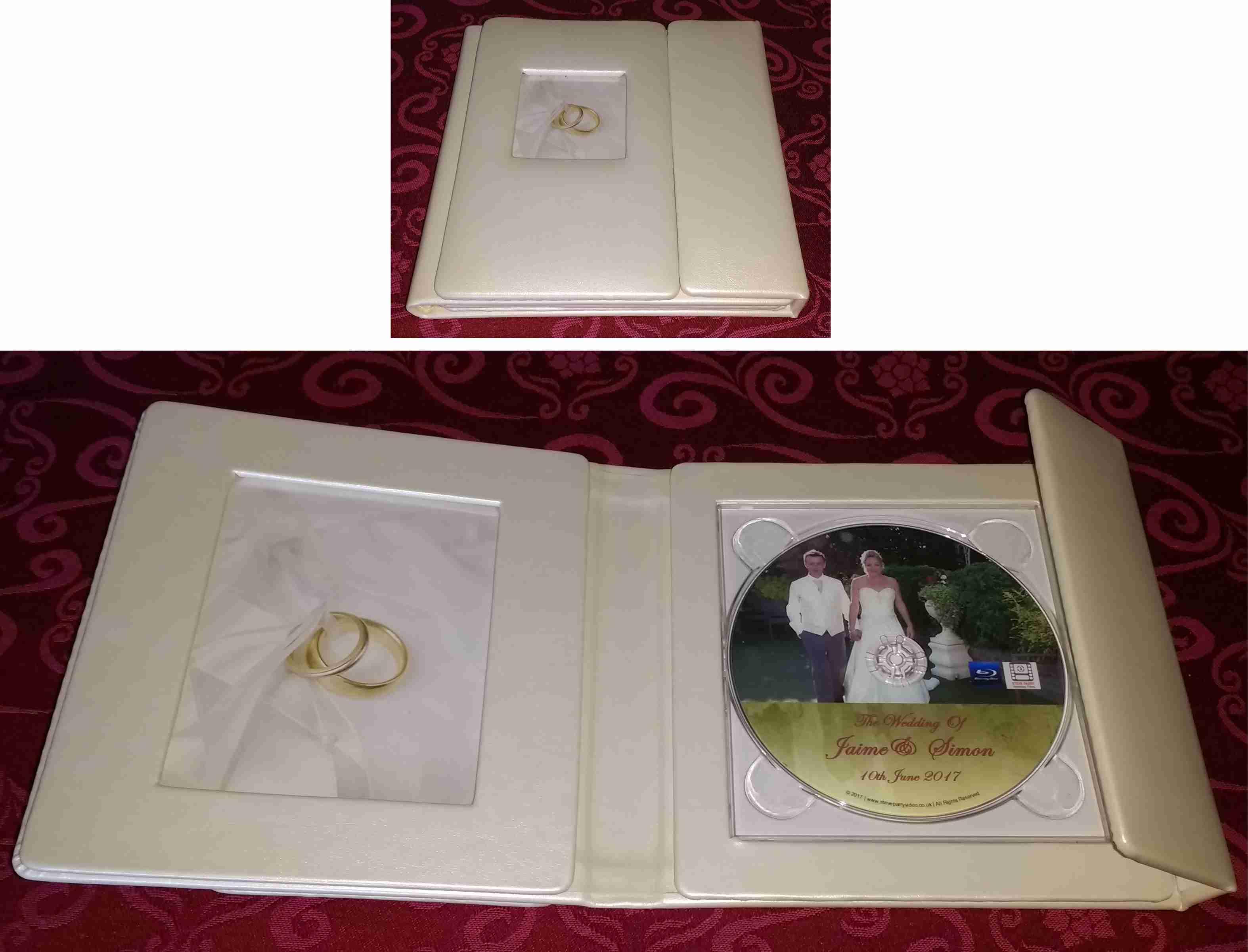 Wedding DVD Presentation Folio