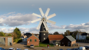 heckington windmill aerial videography