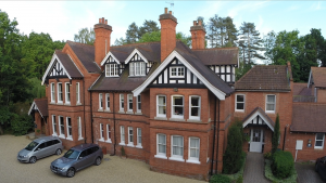 dower house hotel woodall spa aerial videography
